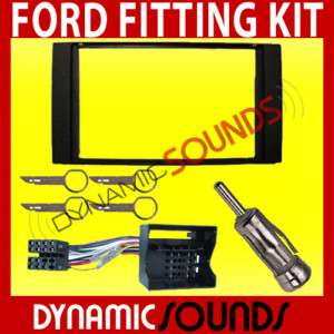 Ford Focus C Max S Max Double Din Stereo Fitting Kit