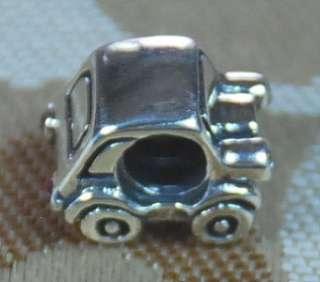 Bead European 4 Bracelet Charm CAR W LIGHTS, APPLE, HORSESHOE