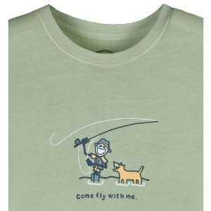 Life Is Good Inc. Mens Crusher Come Fly With Me Tee