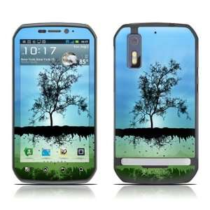 Flying Tree Blue Design Decorative Skin Cover Decal Sticker for
