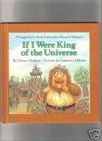If I Were King of the Universe   A Fraggle Rock Book   Jim Hensons