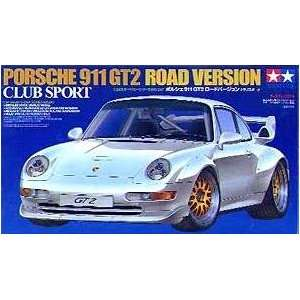 Porsche 911 GT2 Road Version Club Sport Model Car 1 24