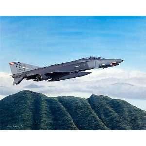 Final Flight   Sam Lyons   F4 E Phantom Aviation Art