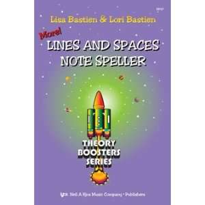 and Spaces Note Speller (KP27) Lisa Bastien, Lori Bastien Books