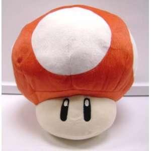 Super Mario Bros. LARGE 13 inch RED MUSHROOM PLUSH Toys
