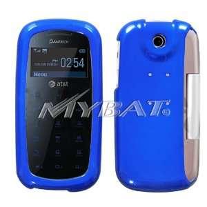 PANTECH IMPACT P7000 BLUE SOLID HARD CASE COVER