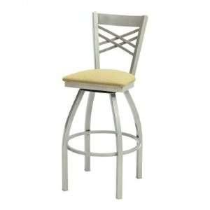 Grand Rapids Chair 6533BS Melissa Anne Cross Back Swivel Barstool (24