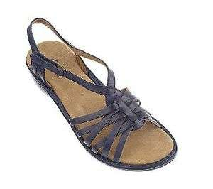 NEW Bendables Leather Multi Strap Sandals adj Strap PICK SIZE &C OLOR