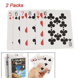 2 Packs Playing Cards Disappearing Magic Trick Toy New Baby