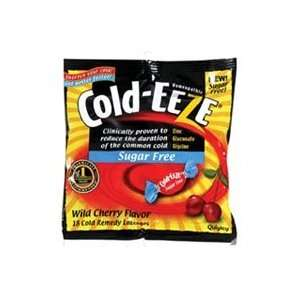 Cold Eeze Cold Remedy, Sugar Free, Lozenges, Natural Wild
