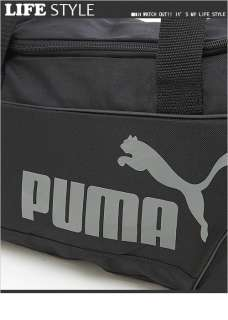 BN Puma Fundamentals Small Duffle / Gym Bag Black