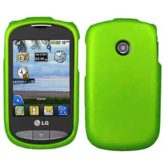 6X Colourful Hard Cover Case for LG 800G Net10 Tracfone Phone w/Screen