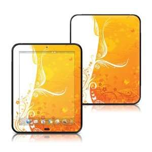Orange Crush Design Protective Decal Skin Sticker for HP TouchPad 9.7