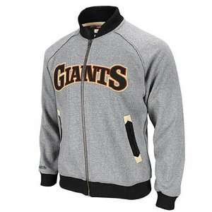 MLB San Francisco Giants Intrasquad Track Jacket Mitchell Ness