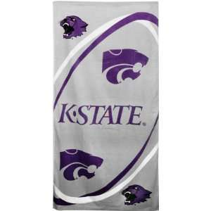 Kansas State Wildcats NCAA Beach/Bath 30X60 Towel Sports