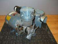 GAST 1/3 Hp Single Piston Air Compressor Vacuum Pump Needs Minor