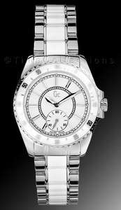 COLLECTION GC SPORT CLASS WHITE CERAMIC SS SILVER LADY WATCH G29005L1