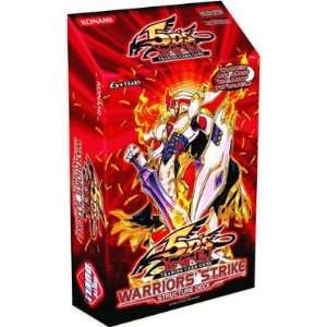 5Ds Warriors Strike English Structure Deck [Toy] Toys & Games