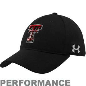 Under Armour Texas Tech Red Raiders Black Spring Trainer Performance