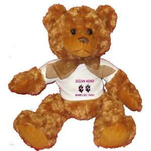 IBIZAN HOUND WOMANS BEST FRIEND Plush Teddy Bear with