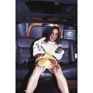 Ozzy Osbourne Seated in Automobile, 20 x 30 Poster Print