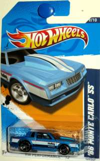 1986 Chevy Monte Carlo SS Hot Wheels 2012 Performance #9/10 HOLLEY