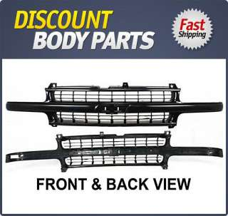 Grill Assembly New Chevy Suburban Black Chevrolet Tahoe 2006 2005 Auto