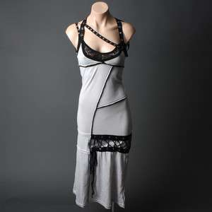Punk Grunge Gothic Steampunk Corset Long Maxi Dress