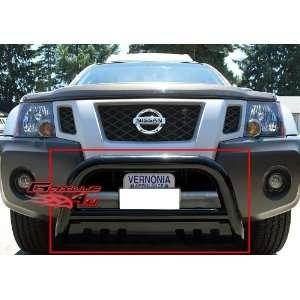 05 11 Nissan Frontier Bull Bar Black Coated Carbon Steel
