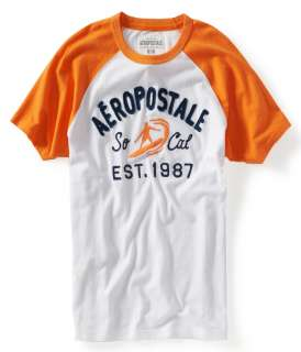 aeropostale mens aero socal raglan graphic t shirt