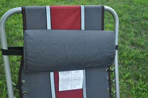 Anti Gravity Adjustable Recliner Chair GRAY AND RED