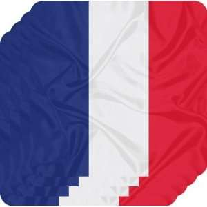 Rikki KnightTM France Flag   Square Beer Coasters   Drink