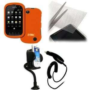 EMPIRE Sprint Kyocera Milano Orange Rubberized Hard Case