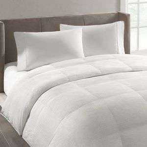 SIMPLY VERA WANG WHITE LUXURY DOWN COMFORTER FULL / QUEEN NEW