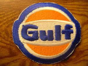 Unused Vintage Gulf Oil Embroidered Uniform Patch