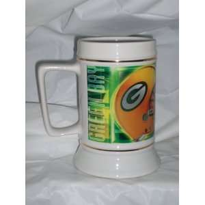 NFL Green Bay Packers Reflections 26oz Ceramic Beer Stein