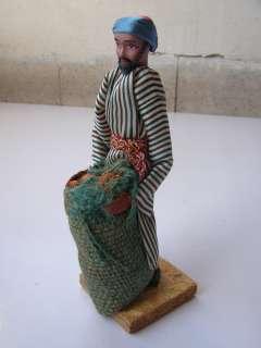 Vintage Israel Jewish Judaica SABRA Handmade Doll 1950s, 60s