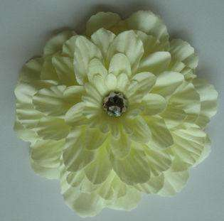NEW 4Girls Baby LADY Flower Hair Bow clip brooch 12 color