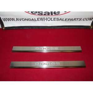 Dodge Caravan 2008 2012 Door Sills Logo Front Mopar OEM Automotive