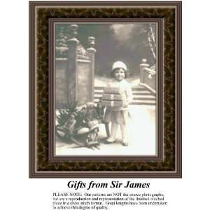 Gifts from Sir James Cross Stitch Pattern PDF Download