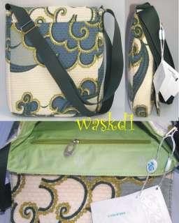 EMILIO PUCCI angora/wool Signature HAWA sling Flap MESSENGER bag NWT