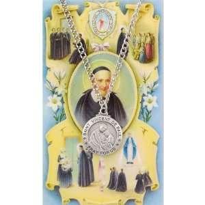 St. Vincent De Paul Prayer Card Set