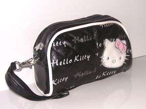 NEW HELLO KITTY COSMETIC HAND BAG MAKE UP CASE HA 1850B