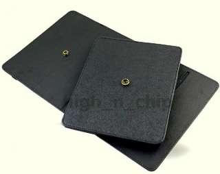 Rotating Leather Case Skin Multi Angle Cover F/ VIZIO Tablet 8 Black