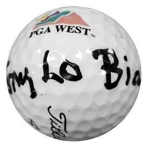 Tony LoBianco Autographed / Signed Golf Ball Sports