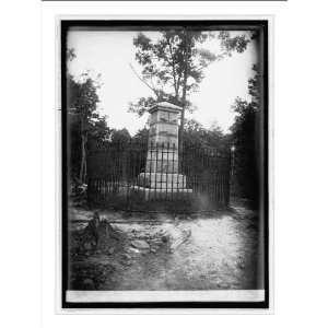 Historic Print (L) Stonewall Jackson Monument