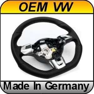 OEM VW Golf MK6 VI GTD GTI Leather Sport Steering Wheel