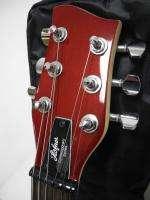 Hofner CT Series Red Shorty Mini Electric Guitar w/ Gig Bag NICE