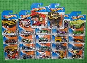 2011 Hot Wheels Video Game Heroes Complete Set of 22