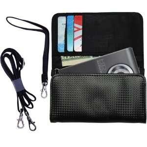 Black Purse Hand Bag Case for the Samsung HMX U10 Digital
